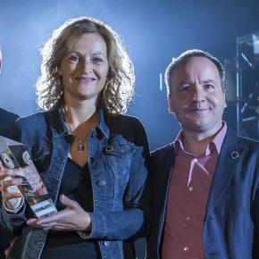 Yvonne van den Berg and John van Pol